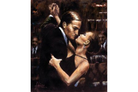 Two for Tango painting