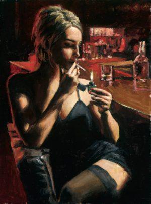 Monika at the Night Club