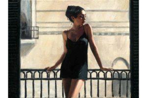 Vanessa at the Balcony