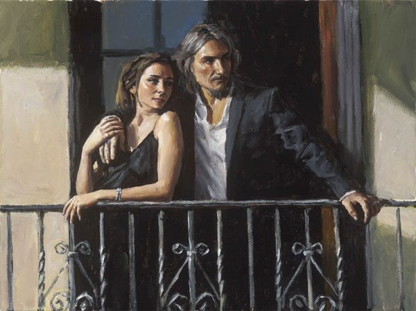 Fabian and Lucy at the Balcony III
