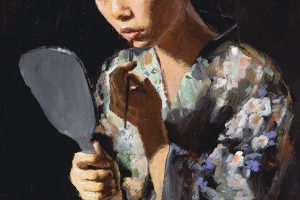 Geisha with Mirror II