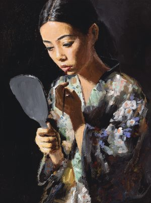 Geisha with Mirror II