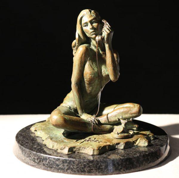 Black Phone II (sculpture)