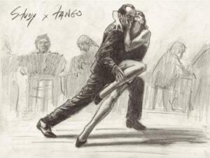 Study of Tango (sketch)