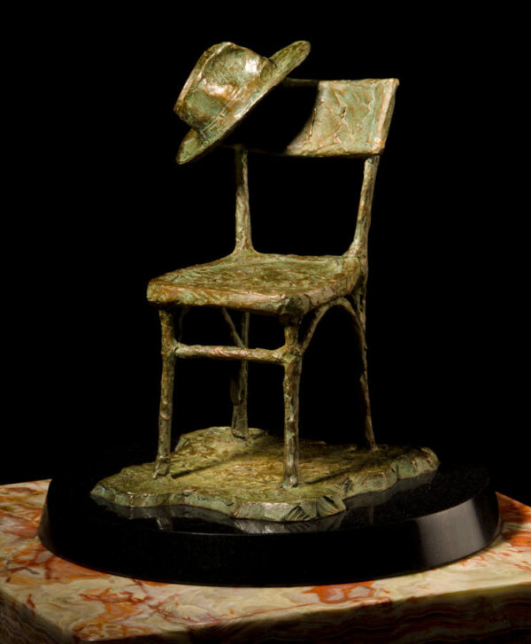 The Chair and Hat (sculpture)