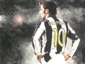 Alessandro Del Piero portrait