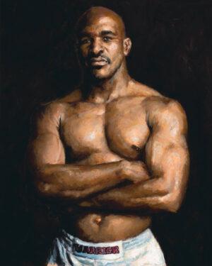 Evander Holyfield portrait