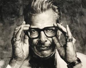 Jeff Goldblum portrait