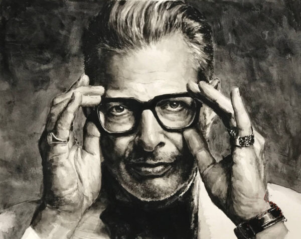 Jeff Goldblum portrait