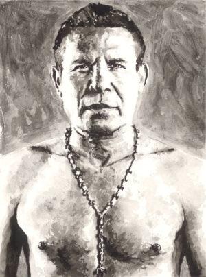 Julio Cesar Chavez portrait